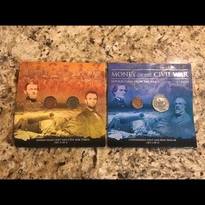 History Gift Set! Civil War Replica Coins